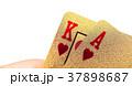 Golden poker cards 37898687