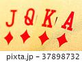 Golden poker cards 37898732