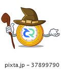 まほうつかい 魔女 コインのイラスト 37899790
