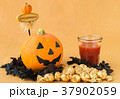 ハロウィン カボチャ お菓子 おもちゃカボチャ ハロウィーンイメージ 37902059