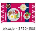目玉焼き 卵料理 朝ごはんのイラスト 37904688