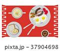 目玉焼き 卵料理 朝ごはんのイラスト 37904698