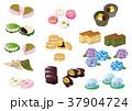 和菓子素材いろいろ 37904724
