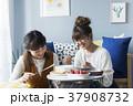 女性 友達 お菓子作りの写真 37908732