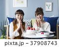 女性 友達 お菓子作りの写真 37908743