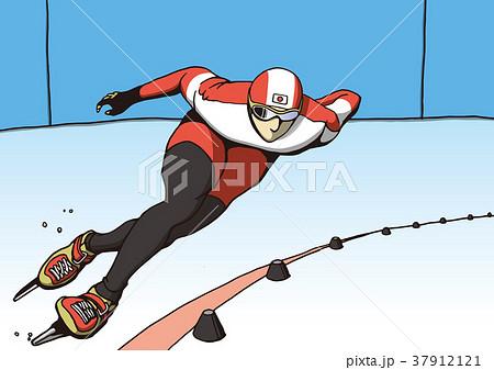スピードスケート 37912121