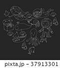 大洋 海 海原のイラスト 37913301