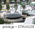 ジオラマ効果で撮影した東京駅丸の内中央口駅前の風景 37914128