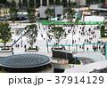 ジオラマ効果で撮影した東京駅丸の内中央口駅前の風景 37914129