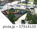 ジオラマ効果で撮影した東京駅丸の内中央口駅前の風景 37914130