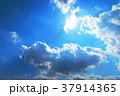 青空と白雲と暗雲 37914365