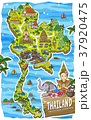 adorable Thailand travel map 37920475