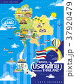 Thailand travel map 37920479