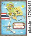 Thailand travel map 37920483
