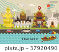 Thailand travel concept poster 37920490