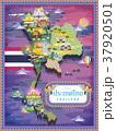 Thailand travel map 37920501