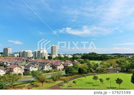 気持ちいい青空と街の風景 37925599
