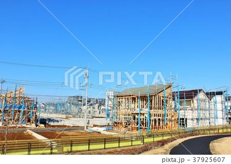 建設中の住宅街 37925607