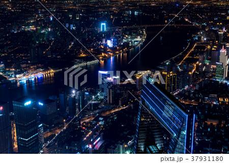 中国・上海の夜景 37931180