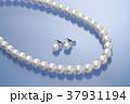 宝石 真珠 ネックレス イヤリング 真珠イメージ パールホワイト パールネックレス パールイヤリング 37931194