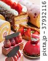 デザート スイーツ ケーキ いちご 果物 洋菓子 いちごケーキ    37932116
