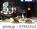 テーブルセッティング ワイン 夜景 レストラン 中華料理 37932313
