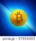 ビットコイン コイン 仮想通貨のイラスト 37934003
