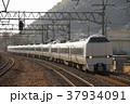 特急 鉄道 列車の写真 37934091