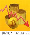 ビットコイン コイン 仮想通貨のイラスト 37934120