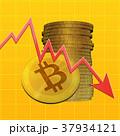 ビットコイン コイン 仮想通貨のイラスト 37934121