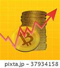 ビットコイン コイン 仮想通貨のイラスト 37934158