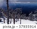 冬の日光・男体山から見る宇都宮方面の山並み 37935914