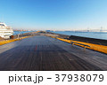 大桟橋 横浜港 豪華客船の写真 37938079
