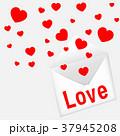 バレンタイン カード 葉書のイラスト 37945208