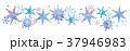 雪の結晶のイラスト 37946983