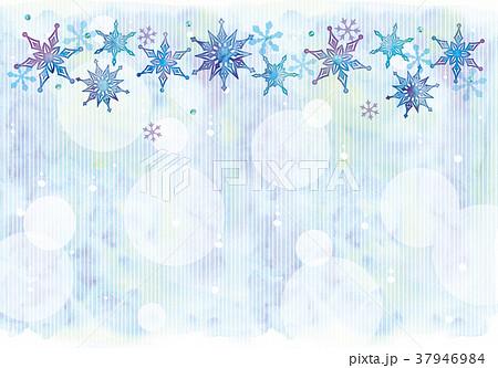 雪の結晶のイラスト 37946984