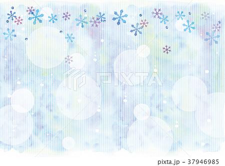 雪の結晶のイラスト 37946985
