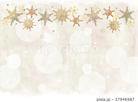 雪の結晶のイラスト 37946987