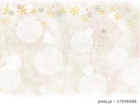 雪の結晶のイラスト 37946988