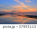 江川海岸の夕景 37955113