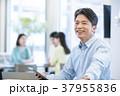 カジュアルオフィスイメージ ビジネスイメージ 私服 会社員 37955836