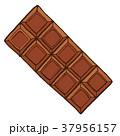 板チョコ チョコレート お菓子のイラスト 37956157