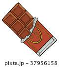 板チョコ チョコレート お菓子のイラスト 37956158