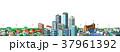 街並み 住宅 ビルのイラスト 37961392