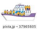 船上でウォッチング(夏バージョン) 37965605