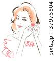 女性 ビューティー 人物のイラスト 37975804