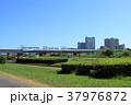 東海道新幹線 多摩川橋梁 河川敷 武蔵小杉 37976872