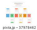 インフォグラフィック 職業 タイムラインのイラスト 37978462