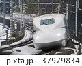 新幹線 鉄道 電車の写真 37979834