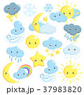天気 気象 天候のイラスト 37983820
